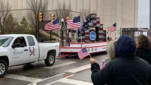 Every year, Tulsa, Oklahoma celebrates its veterans with a parade. Here is a photo from last years celebration. This year, Tulsa will hold the parade for the 102nd time.