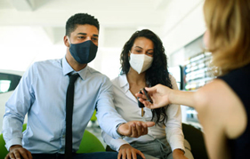 business people-with-mask